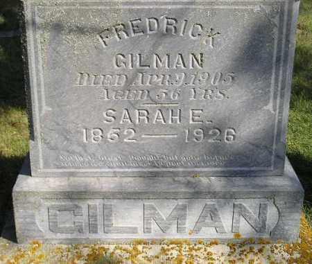 GILMAN, SARAH E. - Codington County, South Dakota | SARAH E. GILMAN - South Dakota Gravestone Photos