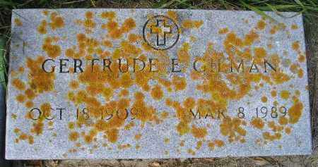 GILMAN, GERTRUDE E. - Codington County, South Dakota | GERTRUDE E. GILMAN - South Dakota Gravestone Photos