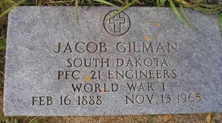 GILMAN, JACOB - Codington County, South Dakota | JACOB GILMAN - South Dakota Gravestone Photos