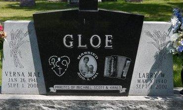 GLOE, VERNA MAE - Codington County, South Dakota | VERNA MAE GLOE - South Dakota Gravestone Photos