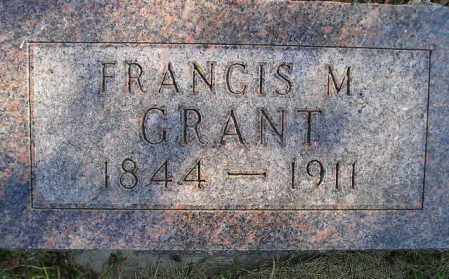 GRANT, FRANCIS MARION - Codington County, South Dakota | FRANCIS MARION GRANT - South Dakota Gravestone Photos