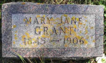 GRANT, MARY JANE - Codington County, South Dakota | MARY JANE GRANT - South Dakota Gravestone Photos
