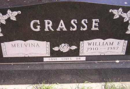 GRASSE, MELVINA - Codington County, South Dakota | MELVINA GRASSE - South Dakota Gravestone Photos