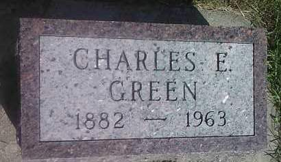 GREEN, CHARLES E - Codington County, South Dakota | CHARLES E GREEN - South Dakota Gravestone Photos