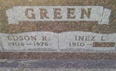 GREEN, INEZ L. - Codington County, South Dakota | INEZ L. GREEN - South Dakota Gravestone Photos