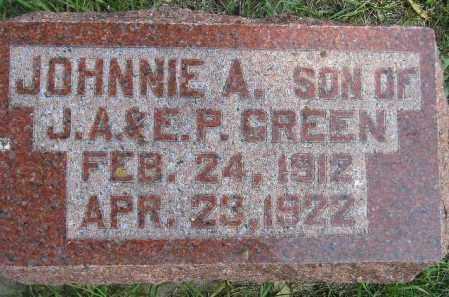 GREEN, JOHNNIE A. - Codington County, South Dakota | JOHNNIE A. GREEN - South Dakota Gravestone Photos