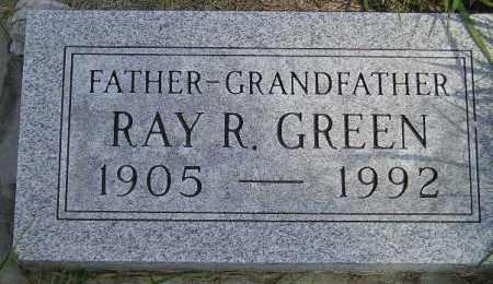 GREEN, RAY R. - Codington County, South Dakota | RAY R. GREEN - South Dakota Gravestone Photos