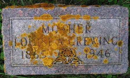 GREWING, LOUISE A. - Codington County, South Dakota | LOUISE A. GREWING - South Dakota Gravestone Photos