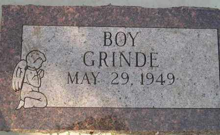 GRINDE, BABY BOY - Codington County, South Dakota | BABY BOY GRINDE - South Dakota Gravestone Photos