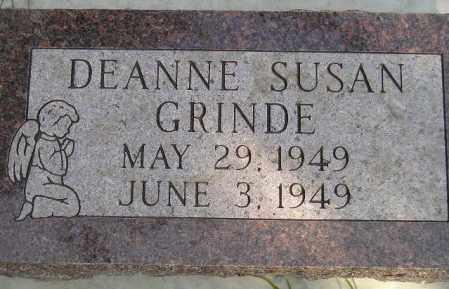 GRINDE, DEANNE SUSAN - Codington County, South Dakota   DEANNE SUSAN GRINDE - South Dakota Gravestone Photos