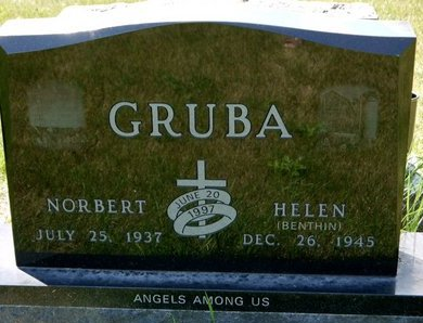 BENTHIN GRUBA, HELEN - Codington County, South Dakota | HELEN BENTHIN GRUBA - South Dakota Gravestone Photos