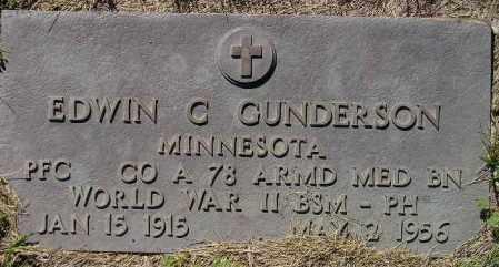 GUNDERSON, EDWIN G. (WW II) - Codington County, South Dakota | EDWIN G. (WW II) GUNDERSON - South Dakota Gravestone Photos