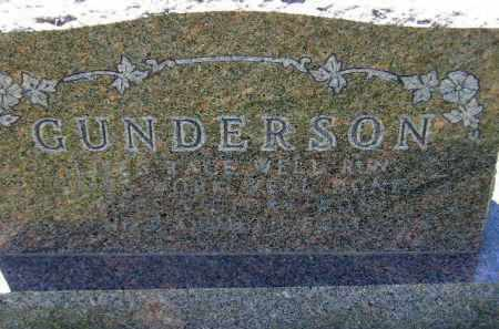 GUNDERSON, FAMILY STONE - Codington County, South Dakota | FAMILY STONE GUNDERSON - South Dakota Gravestone Photos