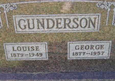 GUNDERSON, LOUISE - Codington County, South Dakota | LOUISE GUNDERSON - South Dakota Gravestone Photos