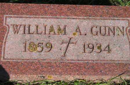 GUNN, WILLIAM A. - Codington County, South Dakota | WILLIAM A. GUNN - South Dakota Gravestone Photos