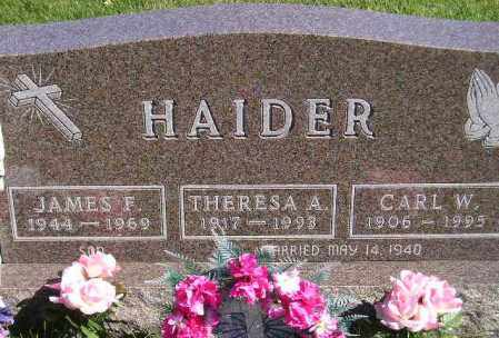 HAIDER, CARL W. - Codington County, South Dakota | CARL W. HAIDER - South Dakota Gravestone Photos