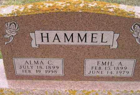 HAMMEL, ALMA C. - Codington County, South Dakota | ALMA C. HAMMEL - South Dakota Gravestone Photos