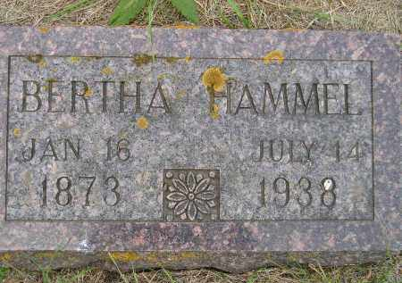 REINEKE HAMMEL, BERTHA - Codington County, South Dakota | BERTHA REINEKE HAMMEL - South Dakota Gravestone Photos