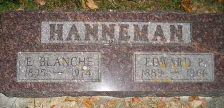 HANNEMAN, E. BLANCHE - Codington County, South Dakota | E. BLANCHE HANNEMAN - South Dakota Gravestone Photos