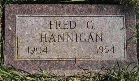 HANNIGAN, FRED G. - Codington County, South Dakota   FRED G. HANNIGAN - South Dakota Gravestone Photos