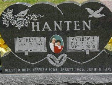 HANTEN, SHIRLEY A. - Codington County, South Dakota | SHIRLEY A. HANTEN - South Dakota Gravestone Photos