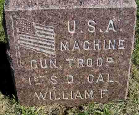 HARDING, WILLIAM F. (MILITARY) - Codington County, South Dakota | WILLIAM F. (MILITARY) HARDING - South Dakota Gravestone Photos