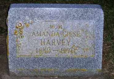HARVEY, AMANDA - Codington County, South Dakota | AMANDA HARVEY - South Dakota Gravestone Photos
