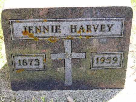 HARVEY, JENNIE - Codington County, South Dakota | JENNIE HARVEY - South Dakota Gravestone Photos