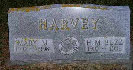 "HARVEY, H.M. ""BUZZ"" - Codington County, South Dakota | H.M. ""BUZZ"" HARVEY - South Dakota Gravestone Photos"