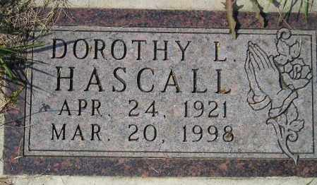 HASCALL, DOROTHY L. - Codington County, South Dakota | DOROTHY L. HASCALL - South Dakota Gravestone Photos