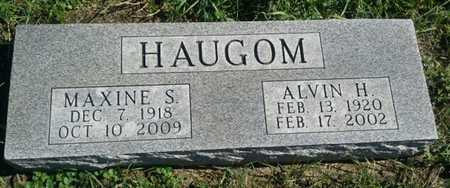 HAUGOM, MAXINE S. - Codington County, South Dakota | MAXINE S. HAUGOM - South Dakota Gravestone Photos