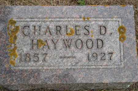 HAYWOOD, CHARLES D. - Codington County, South Dakota | CHARLES D. HAYWOOD - South Dakota Gravestone Photos
