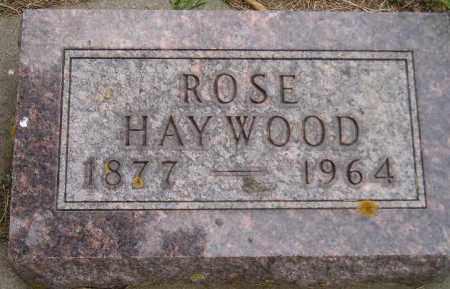 HAYWOOD, ROSE - Codington County, South Dakota | ROSE HAYWOOD - South Dakota Gravestone Photos