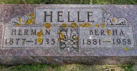 JAEHN HELLE, BERTHA MARIE FRANCES - Codington County, South Dakota   BERTHA MARIE FRANCES JAEHN HELLE - South Dakota Gravestone Photos