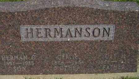 HERMANSON, OLE H. - Codington County, South Dakota | OLE H. HERMANSON - South Dakota Gravestone Photos