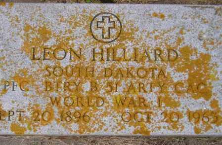 HILLIARD, LEON - Codington County, South Dakota | LEON HILLIARD - South Dakota Gravestone Photos