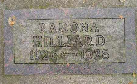HILLIARD, RAMONA - Codington County, South Dakota | RAMONA HILLIARD - South Dakota Gravestone Photos