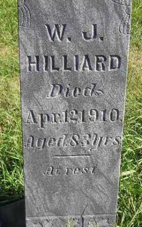 HILLIARD, WILLIAM JOHNSTON - Codington County, South Dakota   WILLIAM JOHNSTON HILLIARD - South Dakota Gravestone Photos