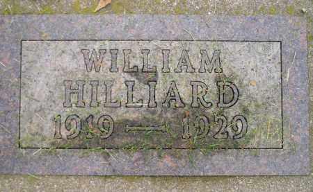 HILLIARD, WILLIAM - Codington County, South Dakota   WILLIAM HILLIARD - South Dakota Gravestone Photos