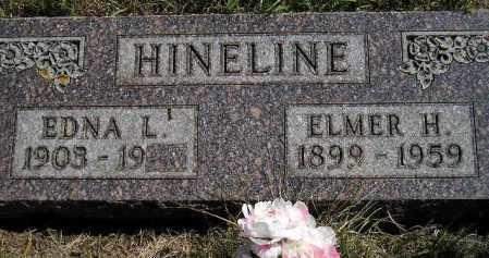 HINELINE, EDNA LOIS - Codington County, South Dakota | EDNA LOIS HINELINE - South Dakota Gravestone Photos