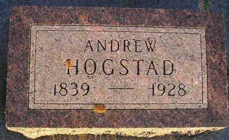 HOGSTAD, ANDREW - Codington County, South Dakota | ANDREW HOGSTAD - South Dakota Gravestone Photos