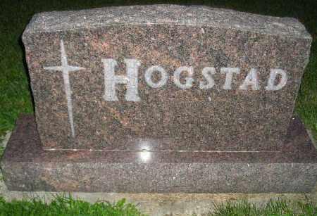 HOGSTAD, FAMILY STONE - Codington County, South Dakota | FAMILY STONE HOGSTAD - South Dakota Gravestone Photos