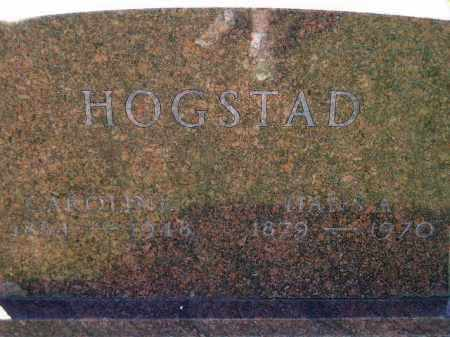 HOGSTAD, HANS ANDREW - Codington County, South Dakota | HANS ANDREW HOGSTAD - South Dakota Gravestone Photos