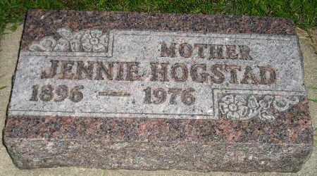 HOGSTAD, JENNIE - Codington County, South Dakota | JENNIE HOGSTAD - South Dakota Gravestone Photos