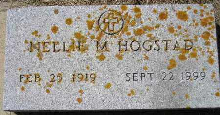HOGSTAD, NELLIE M. (STONE 2) - Codington County, South Dakota   NELLIE M. (STONE 2) HOGSTAD - South Dakota Gravestone Photos