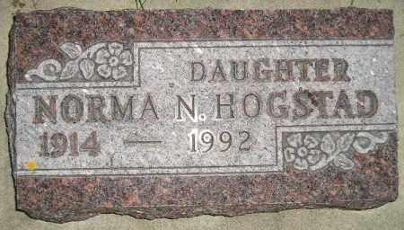 HOGSTAD, NORMA N. - Codington County, South Dakota | NORMA N. HOGSTAD - South Dakota Gravestone Photos
