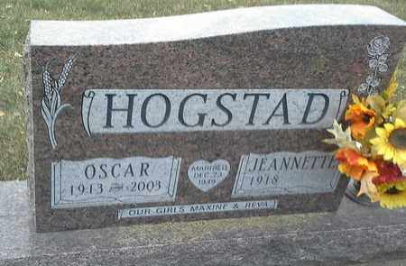 HOGSTAD, JEANNETTE - Codington County, South Dakota | JEANNETTE HOGSTAD - South Dakota Gravestone Photos