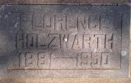 WRIGHT HOLZWARTH, FLORENCE - Codington County, South Dakota   FLORENCE WRIGHT HOLZWARTH - South Dakota Gravestone Photos