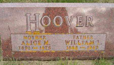 HOOVER, ALICE MINERVA - Codington County, South Dakota | ALICE MINERVA HOOVER - South Dakota Gravestone Photos