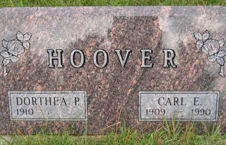 HOOVER, DORTHEA P. - Codington County, South Dakota   DORTHEA P. HOOVER - South Dakota Gravestone Photos